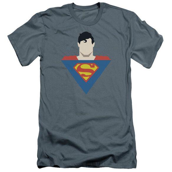 Superman Simple Supes Premuim Canvas Adult Slim Fit
