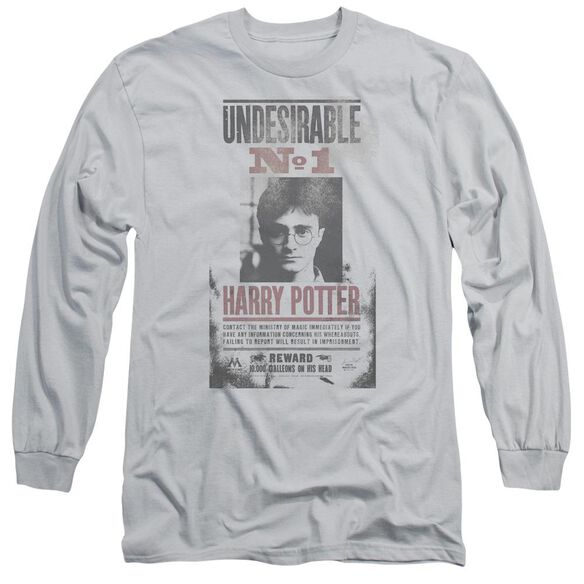 Harry Potter Undesirable No1 Distressed Long Sleeve Adult T-Shirt