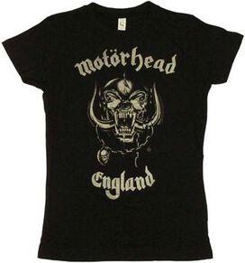 Motorhead England Baby Tee
