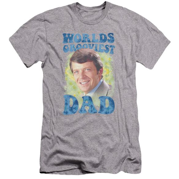 Brady Bunch Worlds Grooviest Premuim Canvas Adult Slim Fit Athletic