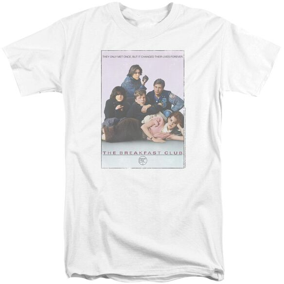 Breakfast Club Bc Poster Short Sleeve Adult Tall T-Shirt