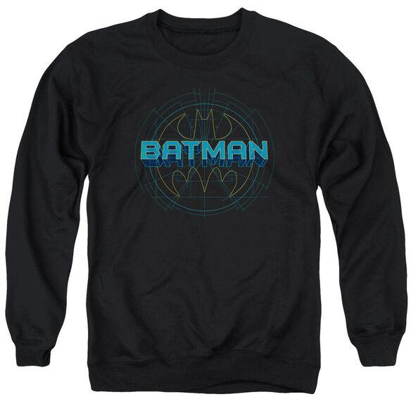 Batman Bat Tech Logo Adult Crewneck Sweatshirt