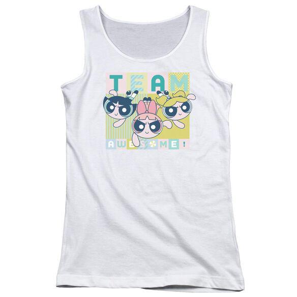 Powerpuff Girls Awesome Block Juniors Tank Top