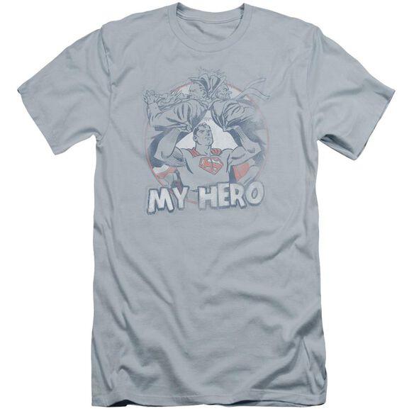 Superman My Hero Premuim Canvas Adult Slim Fit Light