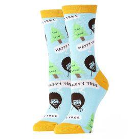 Bob Ross Happy Tree Crew Socks [1 pair]