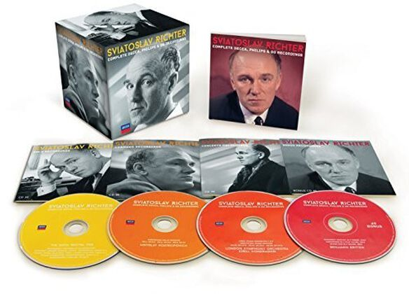 Sviatoslav Richter - Complete Decca Philips & DG Recordings