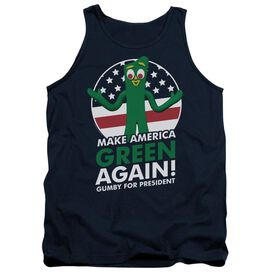 Gumby For President Adult Tank
