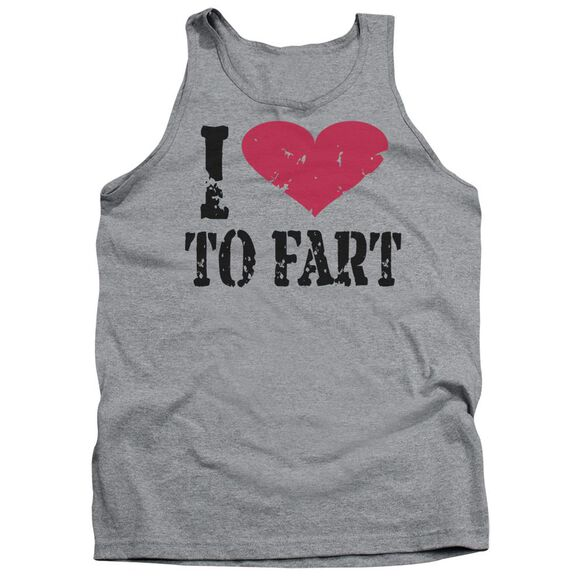 I Love To Fart Adult Tank Athletic