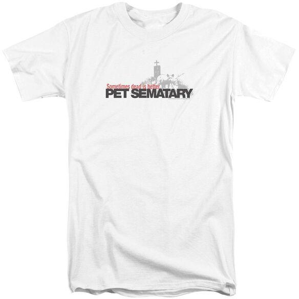 Pet Sematary Logo Short Sleeve Adult Tall T-Shirt
