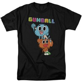 Amazing World Of Gumball Gumball Spray Short Sleeve Adult T-Shirt