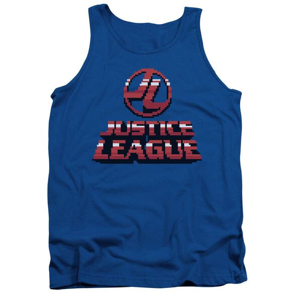 Jla 8 Bit Jla Adult Tank Royal