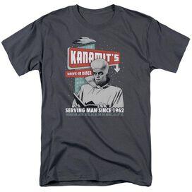 Twilight Zone Kanamits Diner Short Sleeve Adult T-Shirt