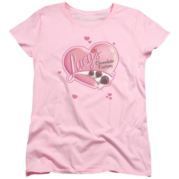 I Love Lucy Chocolate Smudges Short Sleeve Womens Tee T-Shirt