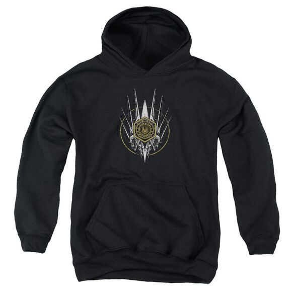 Bsg Crest Of Ships Youth Pull Over Hoodie