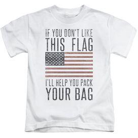 Pack Your Bag Short Sleeve Juvenile T-Shirt