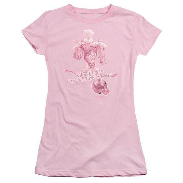 I Love Lucy Nobody Else Short Sleeve Junior Sheer T-Shirt