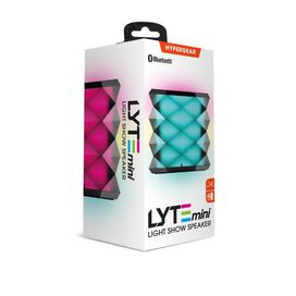 HyperGear LYTE Mini Wireless LED Speaker [Black]