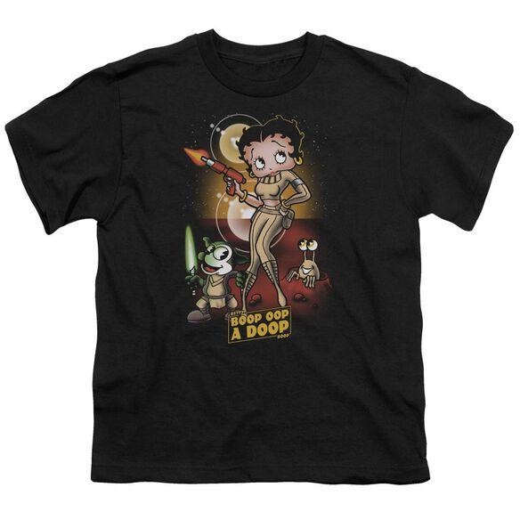 Betty Boop Star Princess Short Sleeve Youth T-Shirt