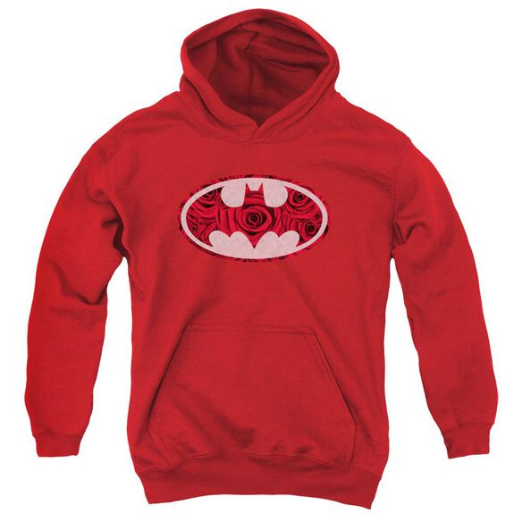 Batman Rosey Signal Youth Pull Over Hoodie