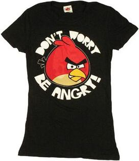 Angry Birds Be Angry Baby Tee