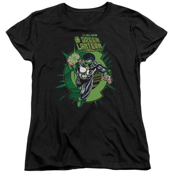 Green Lantern Rayner Cover Short Sleeve Womens Tee T-Shirt