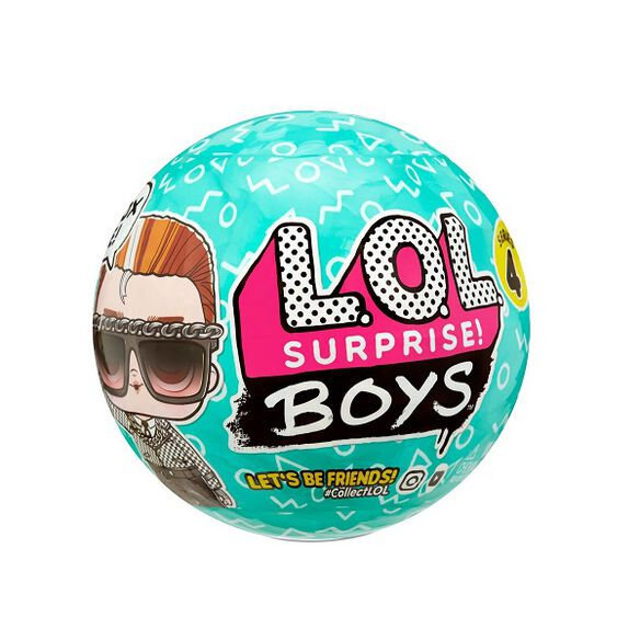 L.O.L. Surprise! Boys Character Doll with 7 Surprises Series 4