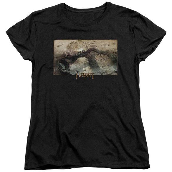 Hobbit Epic Journey Short Sleeve Womens Tee T-Shirt
