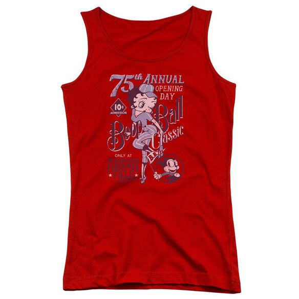 Betty Boop Boop Ball Juniors Tank Top