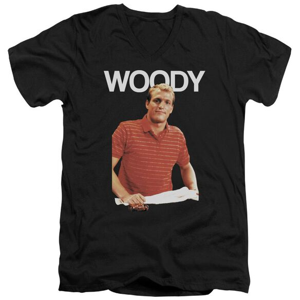 Cheers Woody Short Sleeve Adult V Neck T-Shirt