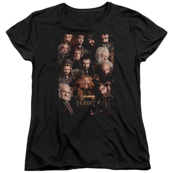 The Hobbit Dwarves Poster Short Sleeve Womens Tee T-Shirt