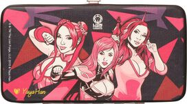 Yaya Han Adventure Poses Clutch Wallet