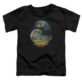 Chicago Live Short Sleeve Toddler Tee Black T-Shirt