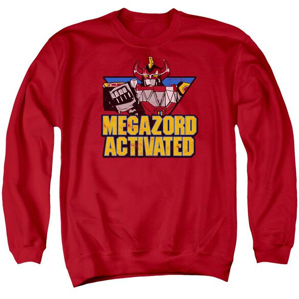 Power Rangers Megazord Activated Adult Crewneck Sweatshirt
