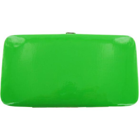 M and M Green Clutch Wallet