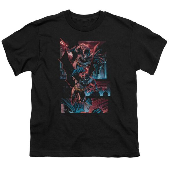 BATMAN DARK KNIGHT PANELS - S/S YOUTH 18/1 T-Shirt