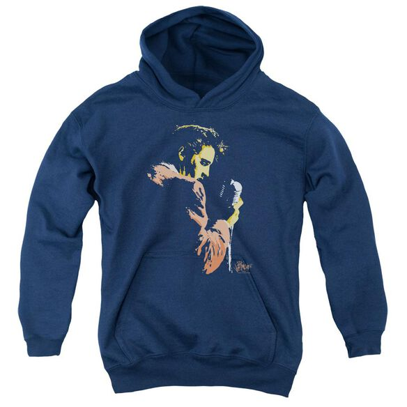 Elvis Presley Early Elvis Youth Pull Over Hoodie