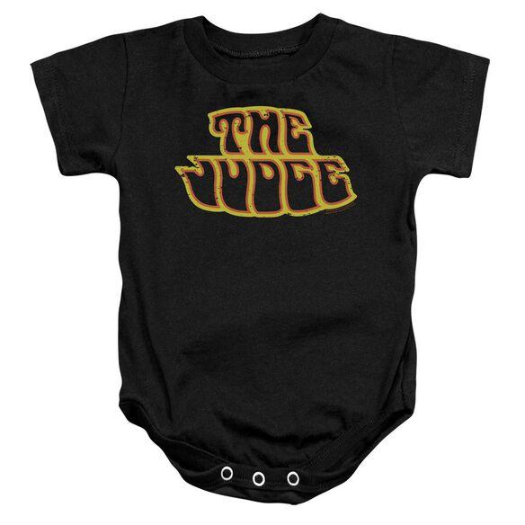 Pontiac Judge Logo Infant Snapsuit Black