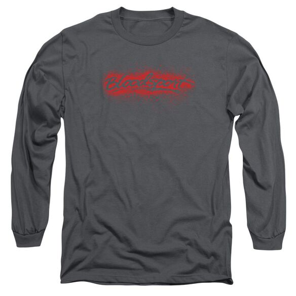 Bloodsport Blood Splatter Long Sleeve Adult T-Shirt