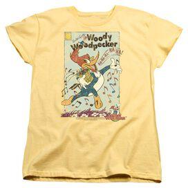 Woody Woodpecker Vintage Woody Short Sleeve Womens Tee T-Shirt