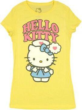 Hello Kitty Nurse Baby Tee