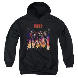Kiss Destroyer Cover-youth Pull-over Hoodie