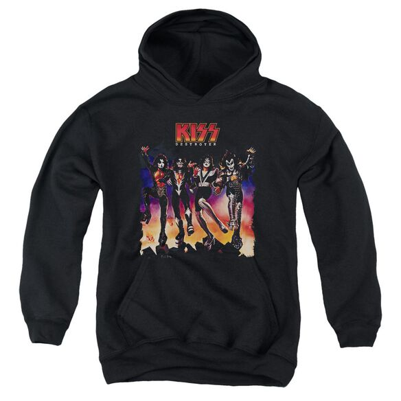 Kiss Destroyer Cover Youth Pull Over Hoodie