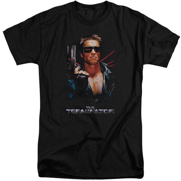 Terminator Poster Short Sleeve Adult Tall T-Shirt