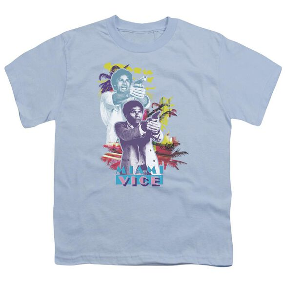 Miami Vice Freeze Short Sleeve Youth Light T-Shirt
