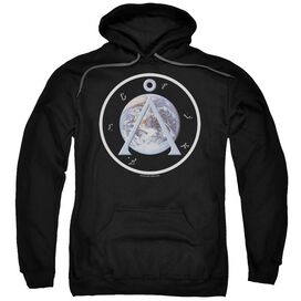 Sg1 Earth Emblem Adult Pull Over Hoodie