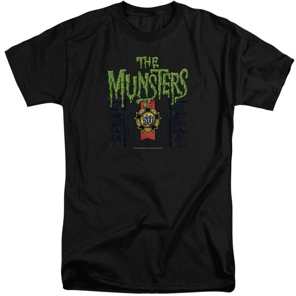 The Munsters 50 Year Logo Short Sleeve Adult Tall T-Shirt