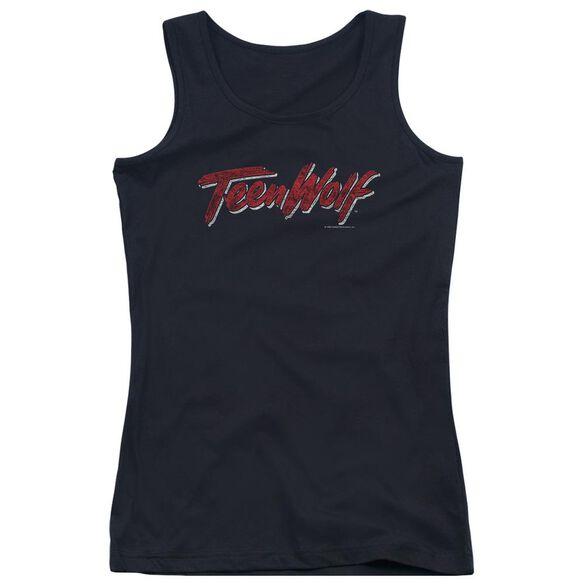 Teen Wolf Scrawl Logo Juniors Tank Top