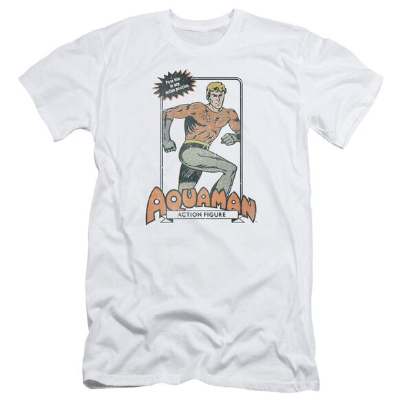 Dc Am Action Figure Short Sleeve Adult T-Shirt