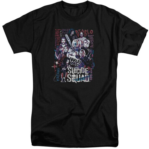 Suicide Squad The Squad Short Sleeve Adult Tall T-Shirt