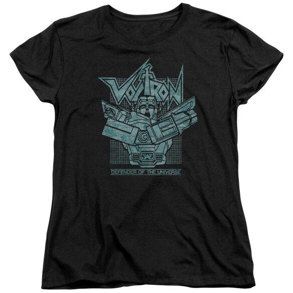Voltron Defender Rough Short Sleeve Womens Tee T-Shirt